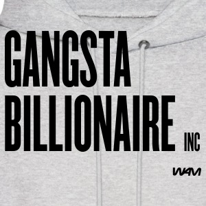 Ash  gangsta billionaire inc by wam Hoodies - Men's Hoodie