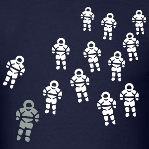 Navy astronauts T-Shirts - Men's T-Shirt