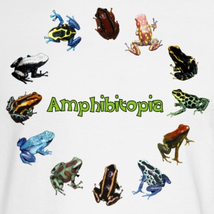 Tree Frogs Amphibitopia - Men's Long Sleeve T-Shirt
