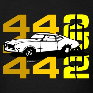 Oldsmobile 442 illustration - AUTONAUT.com - Men's T-Shirt