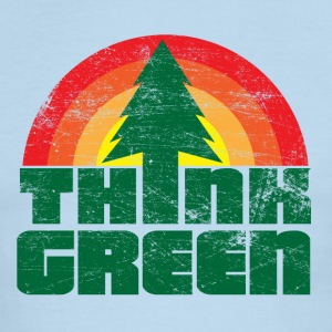 Think Green - Men's Ringer T-Shirt