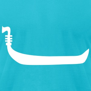Turquoise Venice T-Shirts - Men's T-Shirt by American Apparel