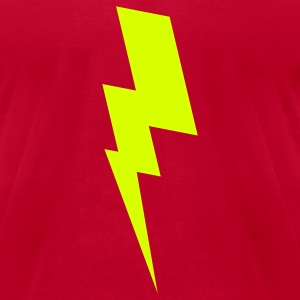 Red flash T-Shirts - Men's T-Shirt by American Apparel