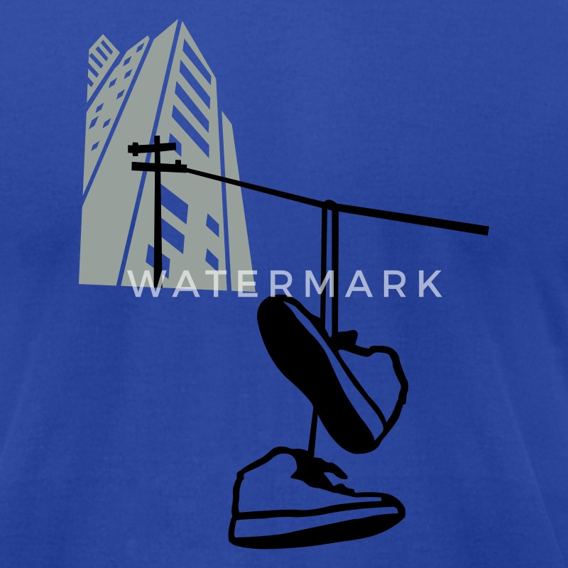 Street Sneakers - Men's T-Shirt by American Apparel