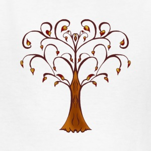 SSD A Fall Tree - Kids' T-Shirt