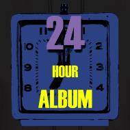 Design ~ 24 Hour Album Hoodie Mens