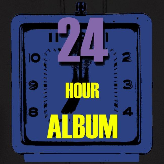 24 Hour Album Hoodie Mens