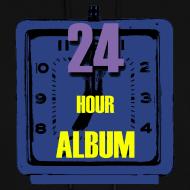 Design ~ 24 Hour Album Hoodie Womens
