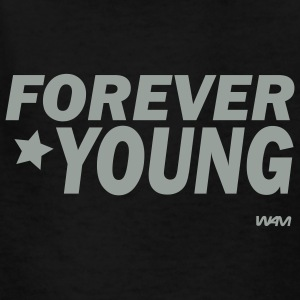 Black forever young by wam Kids Shirts - Kids' T-Shirt