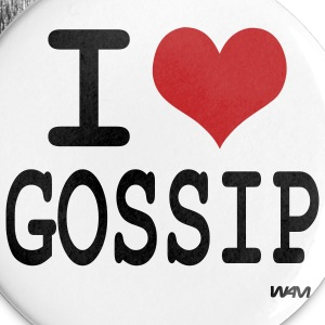 i love gossip by wam Badges - Badge grand 56mm