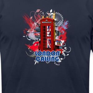 LONDON CALLING - Men's T-Shirt by American Apparel