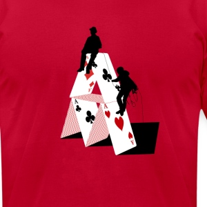 POKER MOUNTAIN - Men's T-Shirt by American Apparel