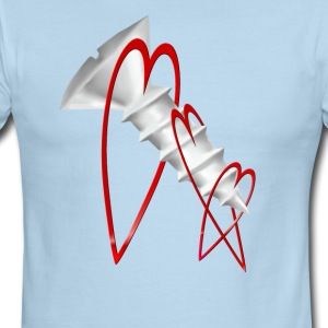 Screw Love_Anti Valentines - Men's Ringer T-Shirt
