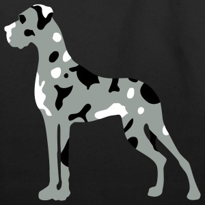 Black Merle Great Dane Bags  - Eco-Friendly Cotton Tote