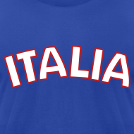 Design ~ ITALIA logo AA T, Royal Blue