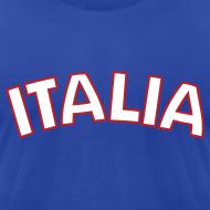 Design ~ ITALIA logo AA T, Royal Blue