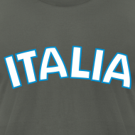 Design ~ ITALIA logo AA T, Asphalt
