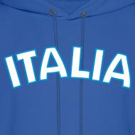 Design ~ ITALIA logo Hoodie, Royal Blue