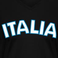 Design ~ ITALIA Women's V-Neck T, Black