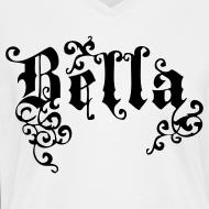 Design ~ BELLA Gothic Women's V-Neck T, White