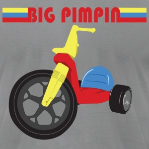 Big Pimpin - Men's T-Shirt by American Apparel