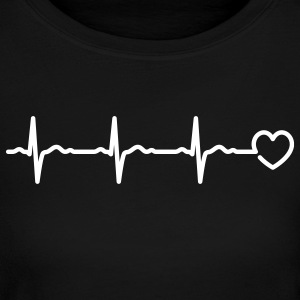 Heartbeat - Women's Long Sleeve Jersey T-Shirt