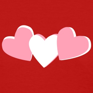 Red heart candy, valentines day design Women's T-shirts - Women's T-Shirt