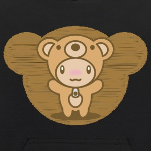 The stuffed toy of the bear - Kids' Hoodie