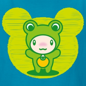 The stuffed toy of the Frog - Kids' T-Shirt
