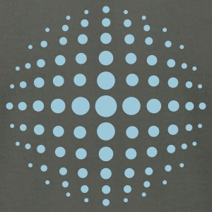 Asphalt Dots in Sphere T-Shirts - Men's T-Shirt by American Apparel
