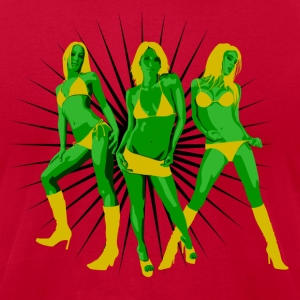 She Hulk Dancers - Men's T-Shirt by American Apparel