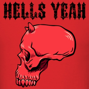Red hells_yeah_red T-Shirts - Men's T-Shirt