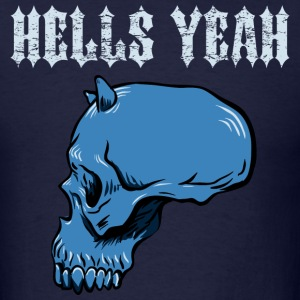 Navy hells_yeah_blue T-Shirts - Men's T-Shirt