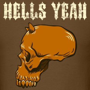 Brown hells_yeah_brown T-Shirts - Men's T-Shirt
