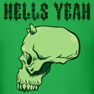 Bright green hells_yeah_green T-Shirts - Men's T-Shirt