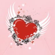Design ~ Heart & Wings Design