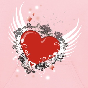 Heart & Wings Design - Kids' Hoodie