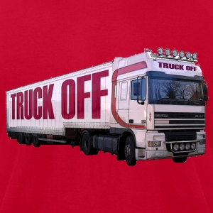 TRUCK OFF T - Men's T-Shirt by American Apparel