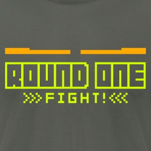 Asphalt Round1: Fight! T-Shirts - Men's T-Shirt by American Apparel