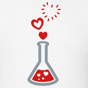 Love Potion - Bursting Heart Bubbles - T Shirt - Mens - Men's T-Shirt