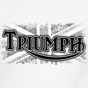 White/black Triumph - AUTONAUT.com T-Shirts - Men's Ringer T-Shirt