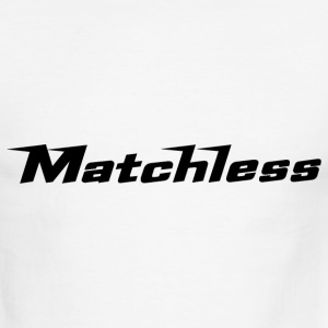 White/black Matchless script - AUTONAUT.com T-Shirts - Men's Ringer T-Shirt