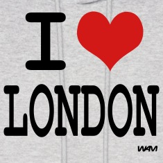 Ash  i love london by wam Hoodies