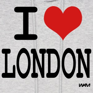 Ash  i love london by wam Hoodies - Men's Hoodie