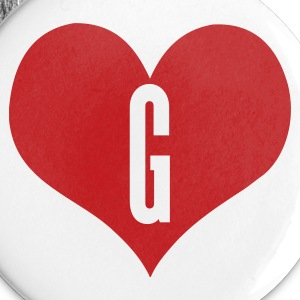 White love_g by wam Buttons - Small Buttons