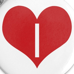 White love_i by wam Buttons - Small Buttons