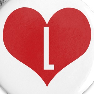 White love_l by wam Buttons - Small Buttons
