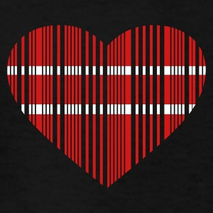 Black barcode love 2c Kids Shirts - Kids' T-Shirt