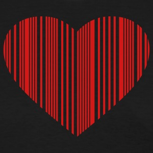 Black barcode love Women's T-shirts - Women's T-Shirt
