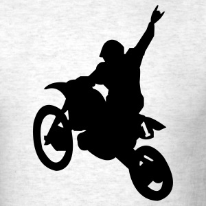 Ash  Dirt Bike T-Shirts - Men's T-Shirt